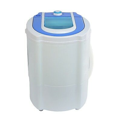 Portable Countertop Mini Washing Machine 5lbs Rated , Max 9Lbs Laundry