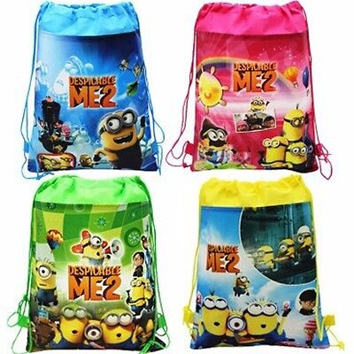 100X NEW Wholesale Buy backpacks Bags Gym Dance Swim Child School Despicable me