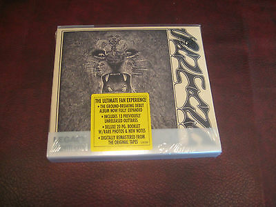 Santana S/t Original 2004 Deluxe Legacy Edition Double Cd Set W/ Woodstock Cuts