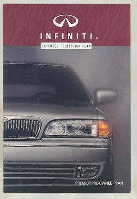 1994 Infiniti Extended Protection Plan Brochure my5667