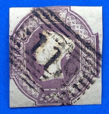 GB Queen Victoria 6d lilac embossed SG 59. (cat £1000)