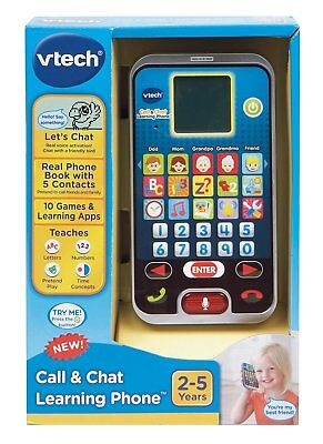 Baby Phone Toy Call And Chat Learning Phone VTech Toddler Child Kids Gift New