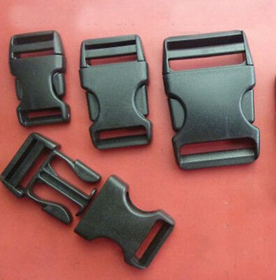 #0007 Side Release Plastic Buckles Safety buckle Clips For Webbing  20 ~ 50 mm