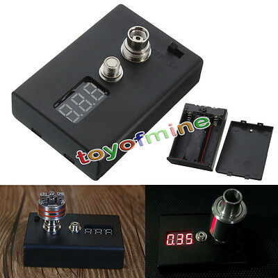 Digital Ohm Meter Resistance Reader Voltage Tester For RBA RDA Atomizer Coil New