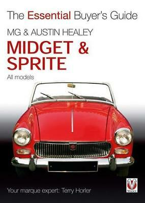 MG Midget AUSTIN HEALEY Sprite Bugeye Buyer's Guide Evaluation BOOK