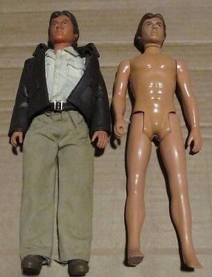 "Kenner Indiana Jones 12"" Figure Doll Harrison Ford 1981 Plus Nude Hans Solo 1978"