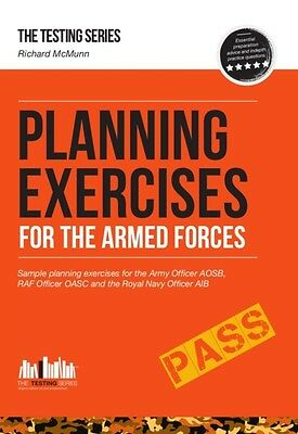 PLANNING EXERCISES for the Army Officer, RAF Officer and Royal Navy Officer sel.