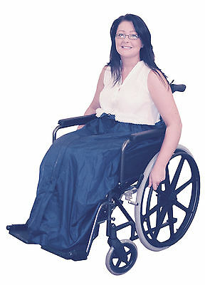NEW Wheelchair Comfort Fleece Lined Wheelchair Cosy leg cover  VAT inc VA129SS