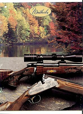 Weatherby Catalog (hole-punched) - 1986