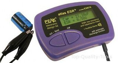 ESR AND CAPACITANCE METER Part No. ESR70 By PEAK