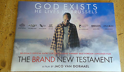 The Brand New Testament MOVIE BOOK PRESS KIT FYC FOR YOUR CONSIDERATION