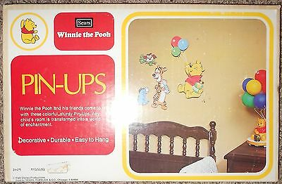 Winnie the Pooh and Friends Pin-Ups - Vintage Sears Disney NEW NOS