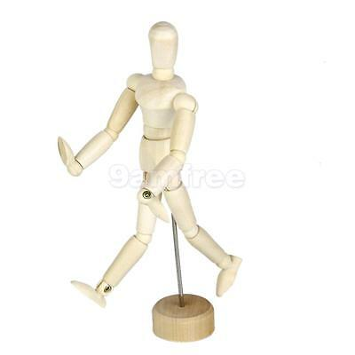 Wooden Wood Figure Manikin Mannequin Human Artist Drawing Model Unisex 5.5""