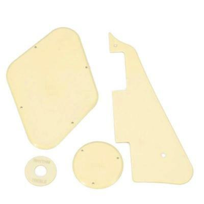Scratch Plate Pickguard Cavity Switch Covers Cream For LP Les Paul Guitar