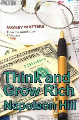 Think and Grow Rich by Napoleon Hill 9781934451359 | Brand New