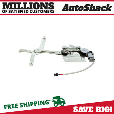 New Front Left Drivers Side Power Window Regulator with Motor