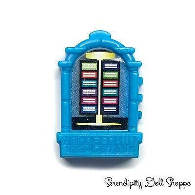 Monster High Die-Ner Diner Replacement Doll Size Pretend Blue Jukebox Diorama
