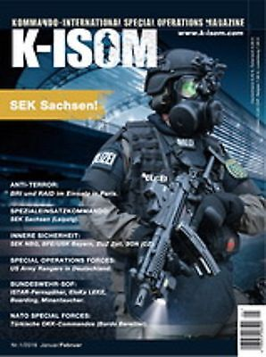 K-ISOM 1/2016 Internat. Special Operations Magazin d. Elite & Spezialeinheiten