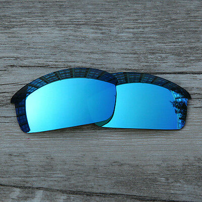 Inew Ice Blue Polarized Replacement lenses for-Oakley bottlecap