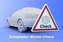 Wintercheck Winter Check zB: VW FORD OPEL AUDI RENAULT PLZ: 57645 ABe