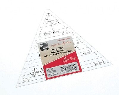 Sew Easy Triangle Quilting Ruler - each (NL4169)