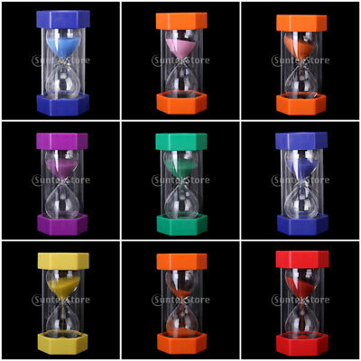 Large Sand Timers Hourglass 1, 2 3, 5, 10, 15, 20, 30, 60 Minutes Teacher Autism
