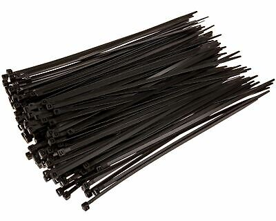 Cable Ties & Organisers Zip Bases 10 Inches 1 Pack Per 100 Pieces - Black
