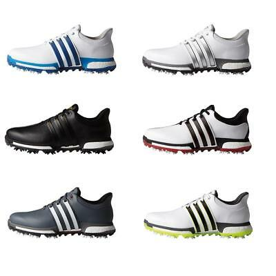 Adidas 2016 Tour360 Boost Waterproof Leather Mens Golf Shoes (Wide Fitting)
