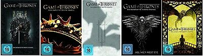 Game of Thrones Staffel 1-5 (1+2+3+4+5) DVD Set NEU OVP