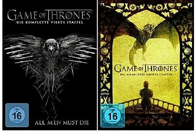 Game of Thrones Staffel 4+5 DVD Set NEU OVP