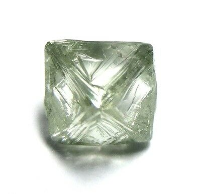 1.80 Carats Unique Uncut Gemmy Raw Rough Diamond Octahedron from RUSSIA