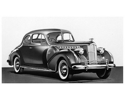 1940 Packard Super Eight 160 Club Coupe Factory Photo ca4080