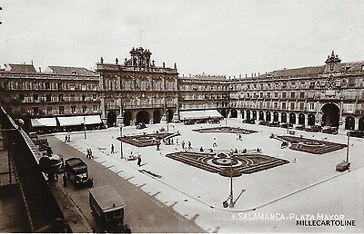SPAIN - Salamanca - Plaza Mayor 1936