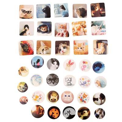 Cute Lovely Cat Stickers for Envelopes Diary Book Scrapbook Notebook Labels