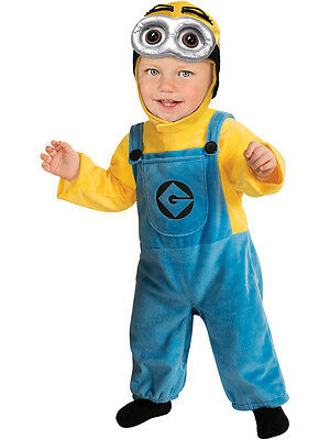 Child Toddler Despicable Me Minion Dave Outfit Fancy Dress Costume Kids Boys