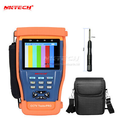 """NKTECH ST893 3.5"""" LCD Monitor CCTV Security Camera Video PTZ RS485 UTP Tester"""