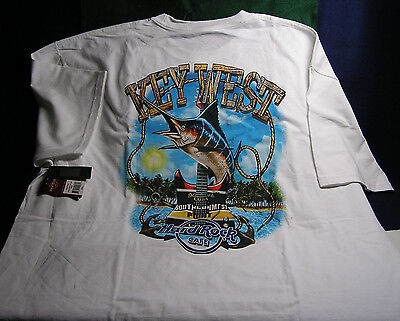 "Hard Rock Cafe ""KEY WEST FL"" City T-Shirt Brand NEW w/Tags - Size XXL"