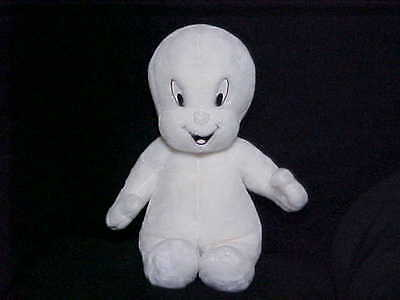 "17"" Talking CASPER Plush Toy With Light Up Head From 1998 Works Perfect Rare"