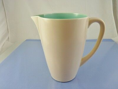 TWINTONE GREEN & SEAGULL C 96 JUG or PITCHER BY POOLE POTTERY