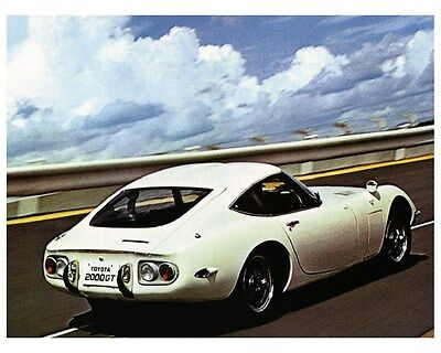 1967 1968 Toyota 2000GT Factory Photo ca4103