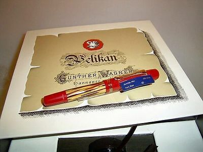 PELIKAN M101N red tortoise Special Edition Fountain pen, Box