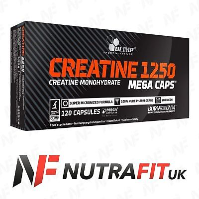 OLIMP CREATINE MONOHYDRATE 1250 120 mega caps box