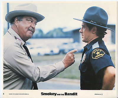 SMOKEY AND THE BANDIT photo JACKIE GLEASON/ALFIE WISE original color lobby still