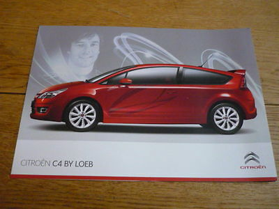 CITROEN C4 BY LOEB CAR BROCHURE jm