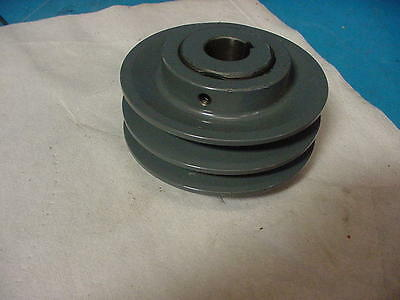 """New TB Woods 2 grove Variable Pulley 2VP501  browning 5"""" OD x 1"""" bore"""