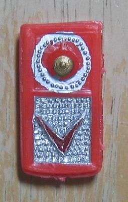 Tressy Red Transistor Radio