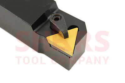 "Shars 1/2"" X 3-1/2"" Lh Ctap Indexable Turning Tri-Lock Tool Holder Tpg New"
