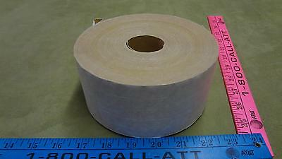 reinforced three-way non-asphaltic 72mm x 375' commercial tape roll