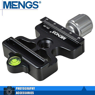 """MENGS DC-50 3/8"""" Quick Release Clamp Compatible Arca Swiss and Manfrotto 200PL"""