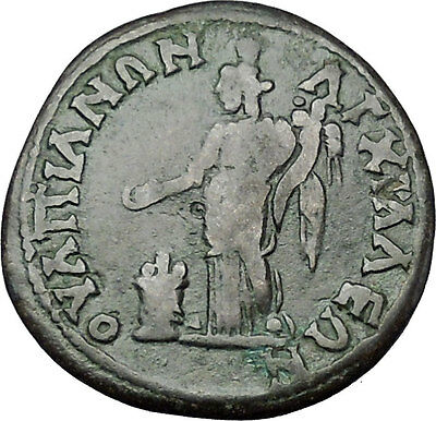 CARACALLA 198AD Anchialus in Thrace TYCHE Authentic Ancient Roman Coin i50924